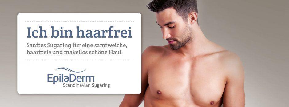 Haarentfernung mit Sugaring für Männer - HairFreeBeauty Neuötting